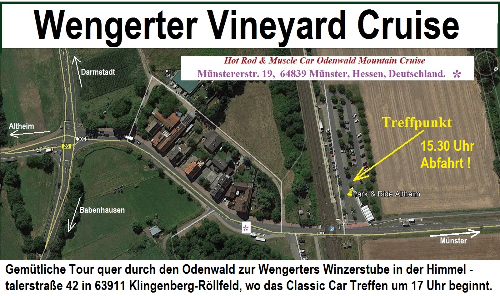 Wengerter Vineyard Cruise