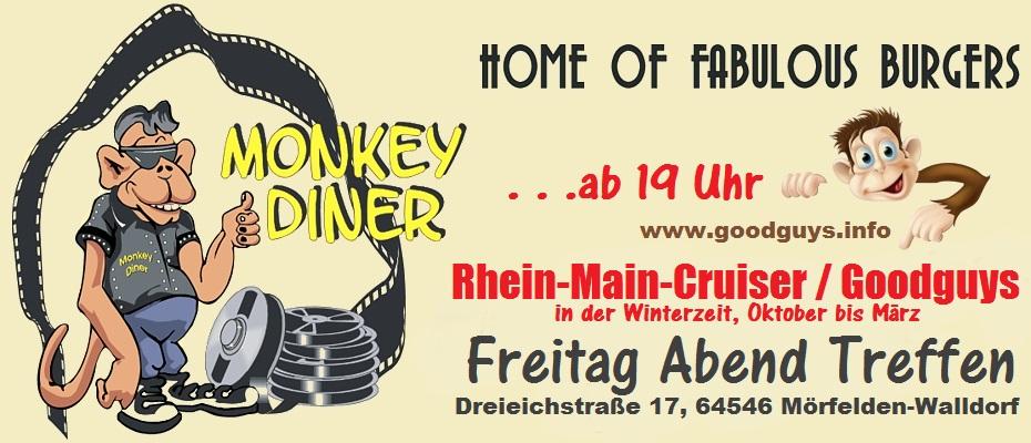 monkey diner mörfelden