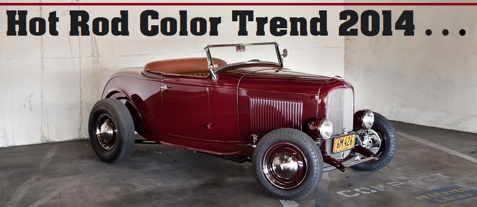 HotRod Color Trend 2012