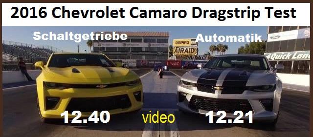 2016 camaro drag
