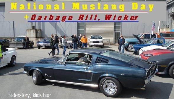 Mustang Day & Garbage Hill